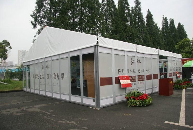 8米玻璃篷房