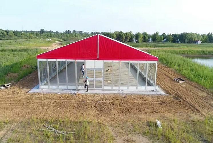 20米玻璃篷房
