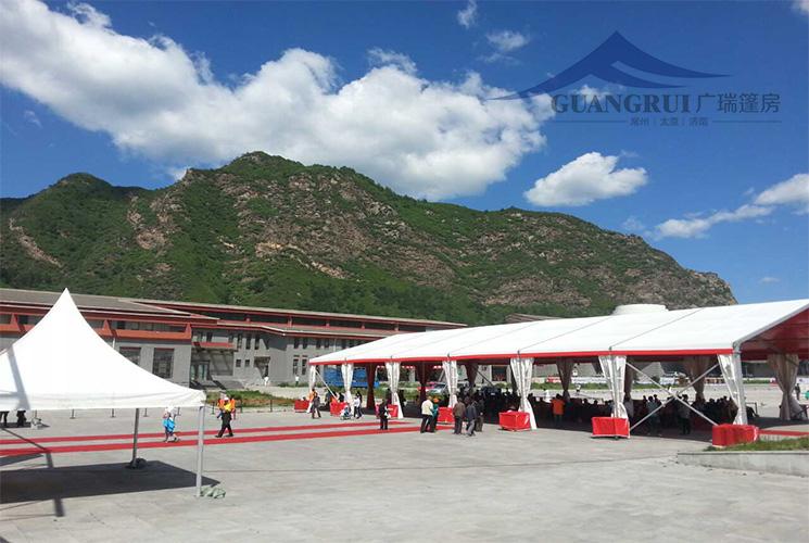 五台山风景区户外活动篷房