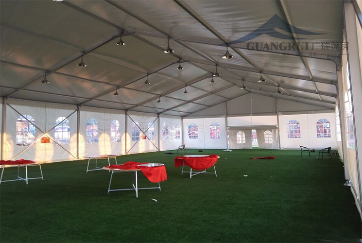 活动篷房使用现场情况