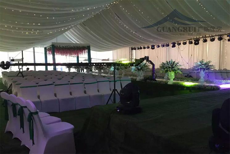 婚庆篷房婚礼现场