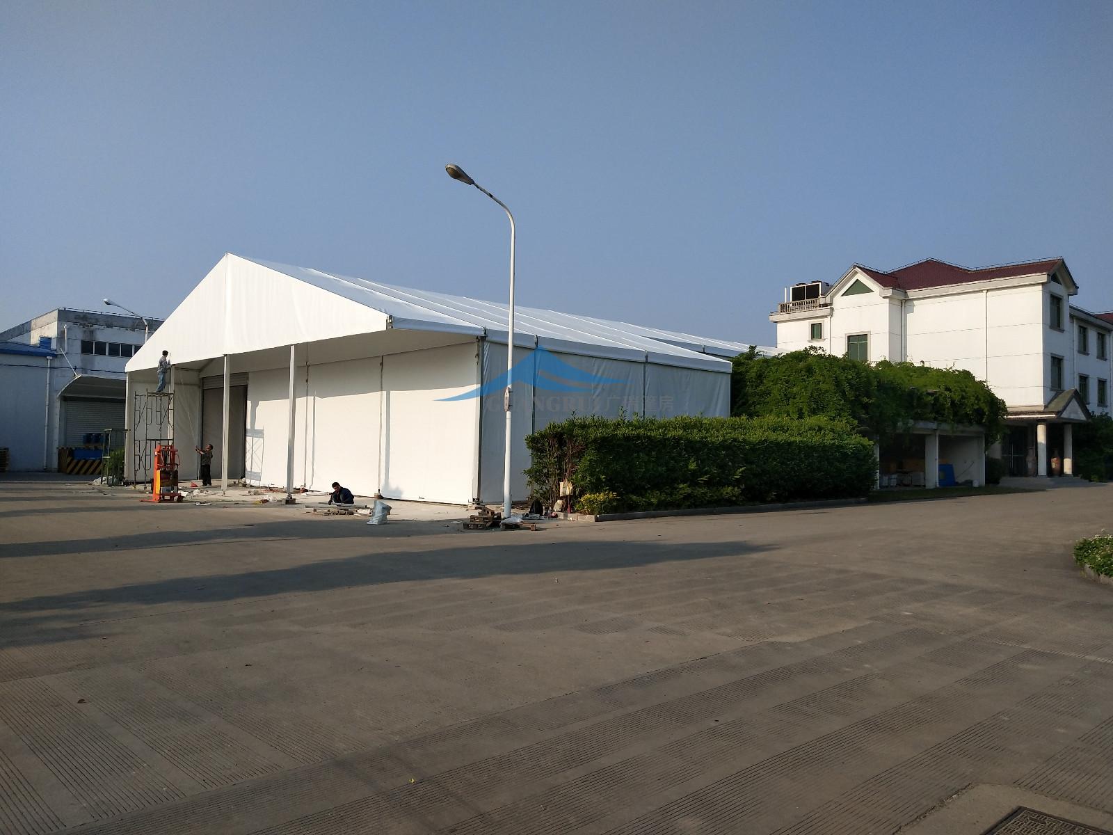 上海佳田仓储篷房