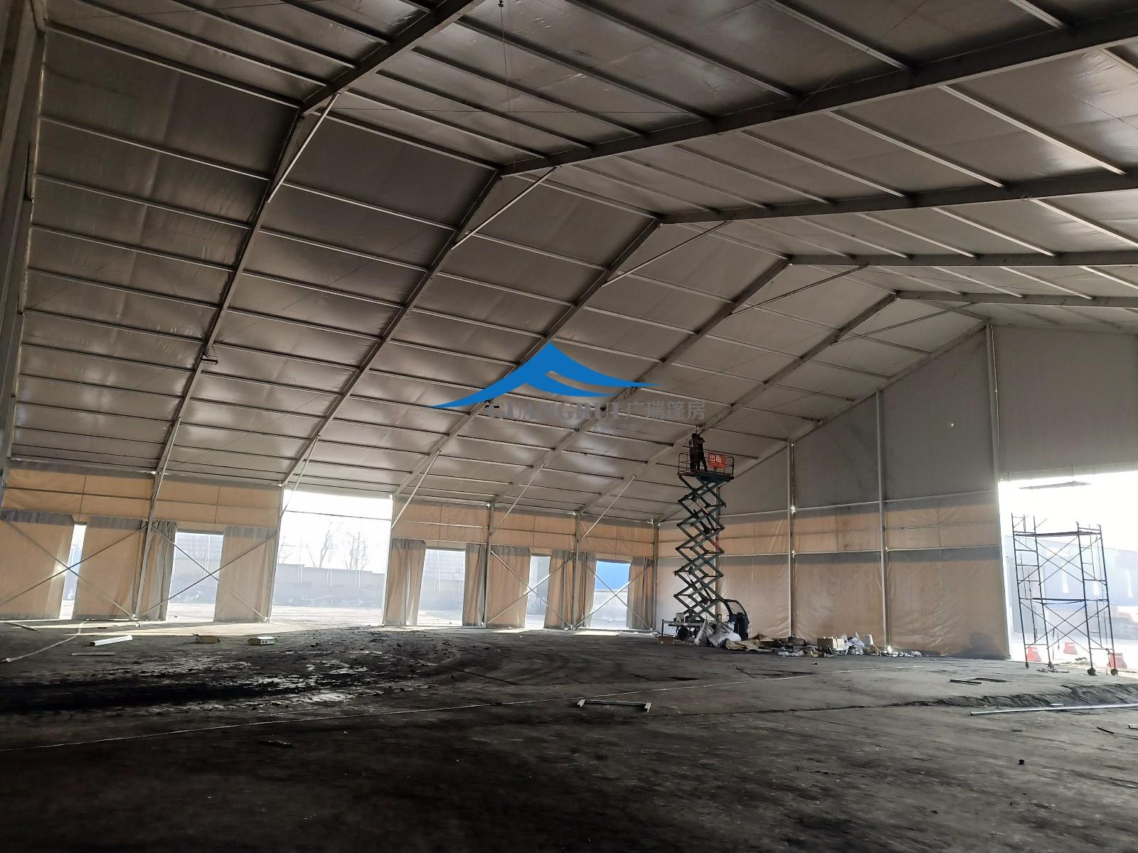 霍州煤电环保篷房