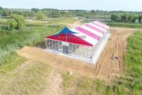 青岛莱西湿地公园活动篷房